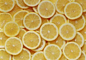 Many lemon slices (filling the picture)