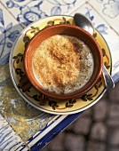 Rice pudding with cinnamon (Arroz doce a Portuguesa)