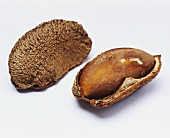 Two Brazil nuts