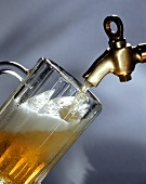 Tapping beer