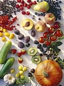 Fruit and vegetables for bottling