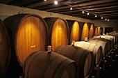 Vilmart champagne in barrels, Champagne, France