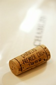 Cork from a Chablis Premier Cru, 1998
