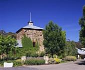 Das Weingut Leasingham, Clare Valley, Südaustralien