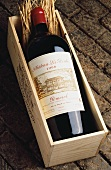 A bottle of 1998 Chateau la Point in wooden crate, Pomerol