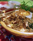 Nasi Goreng with pork fillet