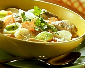 Pichelsteiner stew with pork