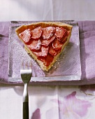 Torta di fragole al Marsala (Strawberry tart with Marsala)