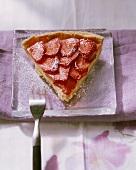 Torta di fragole al Marsala (Strawberry tart with Marsala)