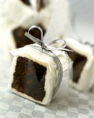 English fruit cake packed as a gift