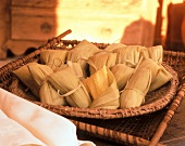Pamonha: sweet corn parcels from Brazil