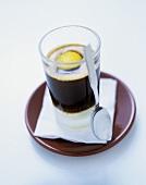 Cold espresso drink from Spain (Trizazio)