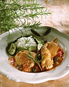 Chicken, Provence style