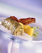 Cabbage roll on sour cream