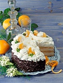 Russian cream gateau
