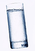 Sparkling Water in Glass