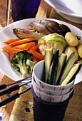 Vegetables for fondue