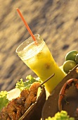 Roska (Brazilian drink made from vodka & tropical fruit)