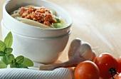 Spaghetti alla bolognese (Spaghetti mit Fleischsauce)
