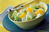 Chinese cabbage and mandarin salad