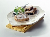 Powidltascherl (pasties with potato pastry & plum puree)