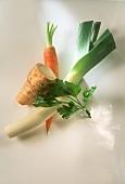 Ingredients for bouquet garni