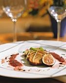 Foie gras with fig