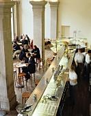View into Café Dukatz (Munich)