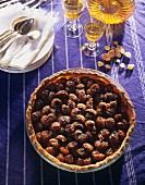 Alsatian plum tart