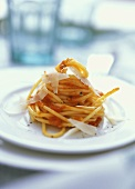 Spaghetti al soffritto di pomodoro (Nudeln mit Tomatensugo)