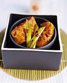 Sichuan-style fried fish fillets