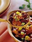 Chili sin carne (vegetarian chili)