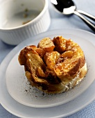 Apricot bread pudding