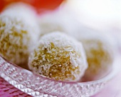Indian coconut balls