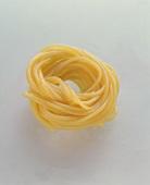 A spaghetti nest