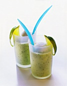 Cucumber and yoghurt drink