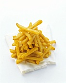 French Fries on Napkin