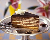 A piece of Prince Regent cake