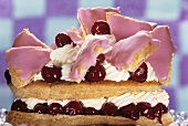 Dutch cherry gateau