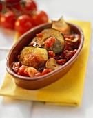 Melanzane al pomodoro (Aubergine & tomato casserole, Italy)
