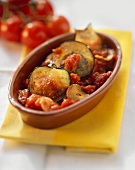 Melenzane al pomodoro (Auberginen-Tomaten-Auflauf, Italien)