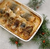 Swedish herring gratin