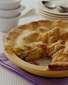 Double-crust apple pie