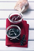 Blackcurrant and redcurrant jam