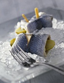 Rollmops on ice