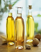 Wheatgerm oil, walnut oil and rapeseed oil