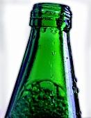 Grüne Wasserflasche (Ausschnitt)