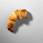 Angebissenes Croissant