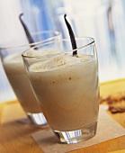 Vanilla & nut milkshake