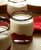 Raspberry & poppy seed shake